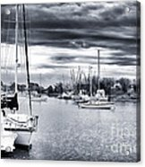 Boat Blues Acrylic Print by John Rizzuto