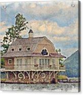 Boathouse  Acrylic Print by Susan Leggett
