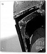 Boba Fett Helmet 24 Acrylic Print by Micah May