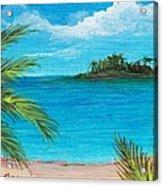 Boca Chica Beach Acrylic Print by Anastasiya Malakhova