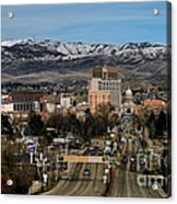 Boise Idaho Acrylic Print by Robert Bales