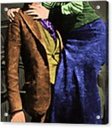 Bonnie And Clyde 20130515 Long Acrylic Print by Wingsdomain Art and Photography