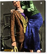 Bonnie And Clyde 20130515 Acrylic Print by Wingsdomain Art and Photography