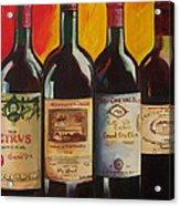 Bordeaux Acrylic Print by Sheri  Chakamian
