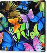 Born Again Acrylic Print by Nancy Cupp