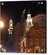 Boston History Acrylic Print by Joann Vitali