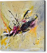 Boundless Thoughts  Acrylic Print by Ismeta Gruenwald