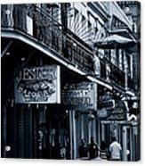 Bourbon Street New Orleans Acrylic Print by Christine Till