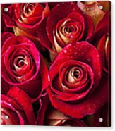 Boutique Roses Acrylic Print by Garry Gay