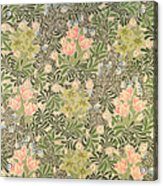 Bower Design Acrylic Print by William Morris