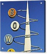 Bowl Sign Acrylic Print by Matthew Bamberg
