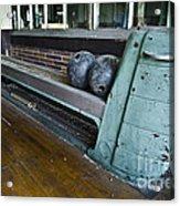 Bowling Ally Ball Return Acrylic Print by Jessica Berlin