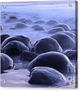 Bowling Ball Beach California Acrylic Print by Bob Christopher