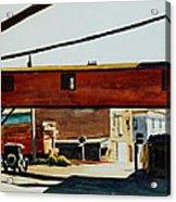 Box Factory Acrylic Print by Edward Hopper