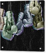 Boxing Gloves Acrylic Print by Tony Rubino
