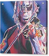 Boyd Tinsley Colorful Full Band Series Acrylic Print by Joshua Morton