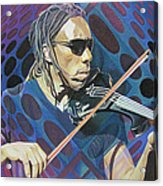 Boyd Tinsley Pop-op Series Acrylic Print by Joshua Morton