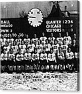 Chicago Football 1935 Acrylic Print by Retro Images Archive