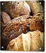 Bread Loaves Acrylic Print by Elena Elisseeva