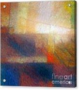 Breaking Light Acrylic Print by Lutz Baar