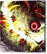 Breakthrough Acrylic Print by Anastasiya Malakhova