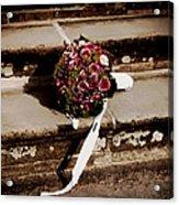 Bridal Bouquet Acrylic Print by Mountain Dreams