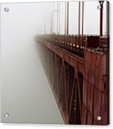 Bridge To Obscurity Acrylic Print by Bill Gallagher