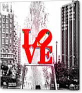 Brightest Love Acrylic Print by Bill Cannon