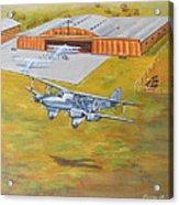 Brisbane Airport 1935 Acrylic Print by Murray McLeod