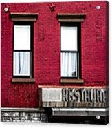 Brooklyn Bar Acrylic Print by Diane Diederich