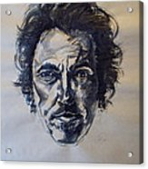 Bruce Springsteen Acrylic Print by Dan Engh