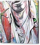 Bruce Springsteen Acrylic Print by Joshua Morton