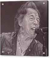 Bruce Springsteen V Acrylic Print by David Dunne