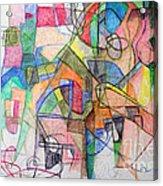 bSeter Elyion 28 Acrylic Print by David Baruch Wolk