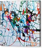 bSeter Elyion 30 Acrylic Print by David Baruch Wolk