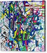 bSeter Elyion 32 Acrylic Print by David Baruch Wolk