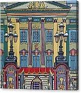 Buckingham Palace Acrylic Print by Nicky Leigh
