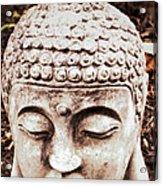 Buddha - Serenity  Acrylic Print by Patricia Januszkiewicz