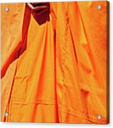 Buddhist Monk 02 Acrylic Print by Rick Piper Photography