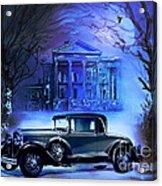 Buick 1930 Acrylic Print by Andrzej Szczerski