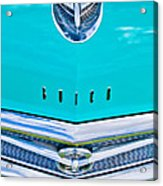 Buick Grill Acrylic Print by Phil 'motography' Clark