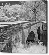 Burnside Bridge 0239 Acrylic Print by Guy Whiteley