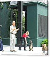 Busch Gardens - Animal Show - 121215 Acrylic Print by DC Photographer