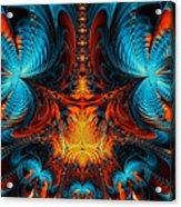 Butterfly Plasma  Acrylic Print by Ian Mitchell