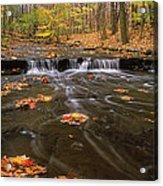 Buttermilk Falls Acrylic Print by Dale Kincaid