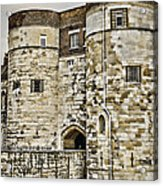 Byward Tower Acrylic Print by Heather Applegate