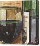 Cabernet Sauvignon Acrylic Print by Debbie DeWitt