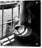 Cabin Crosses II Acrylic Print by Julie Dant