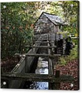 Cable Grist Mill 3 Acrylic Print by Mel Steinhauer