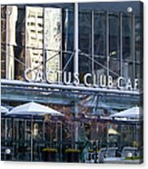 Cactus Club Cafe II Acrylic Print by Chris Dutton